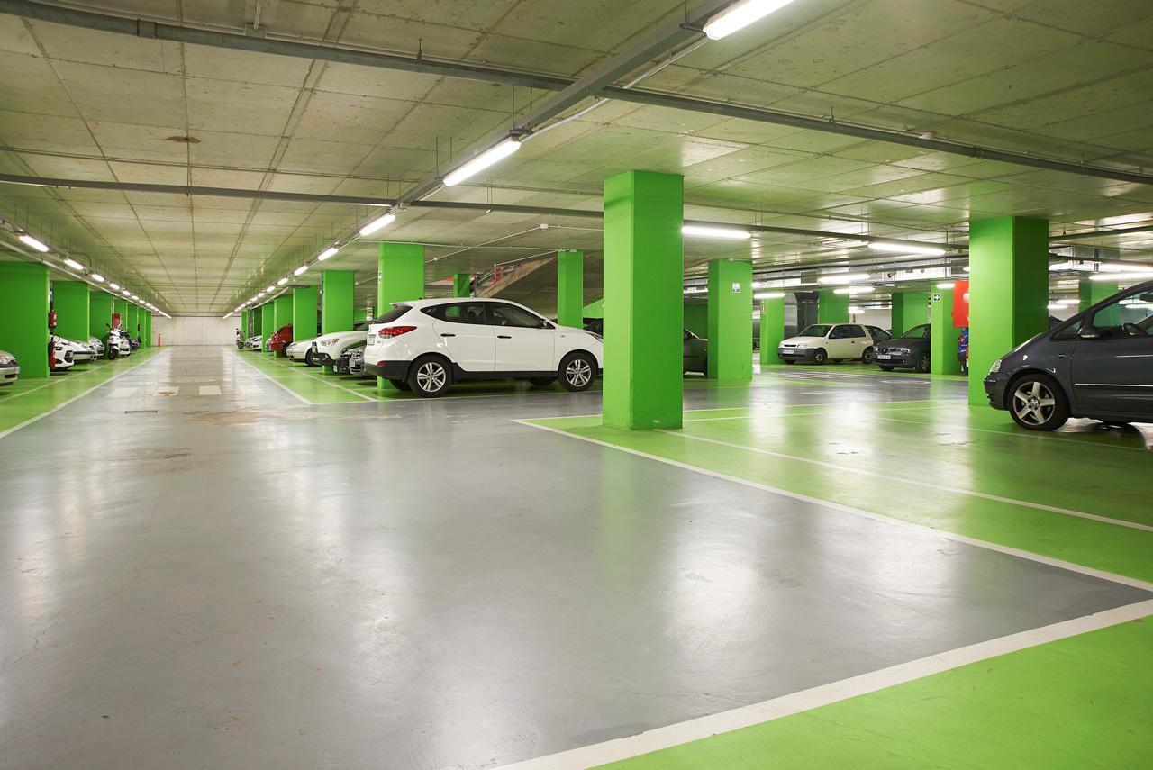 Aparcamiento del c ntric espai cultural prat espais for Alquiler de aparcamiento