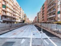 Impermeabilització de la coberta. Construcció de dos aparcaments subterranis a la Av. Verge de Montserrat amb Jaume Casanovas i Carretera de la Marina