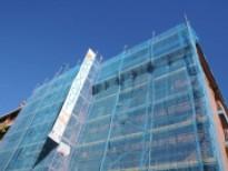 Rehabilitació de la façana d'un edifici del Prat que va rebre subvencions el 2016